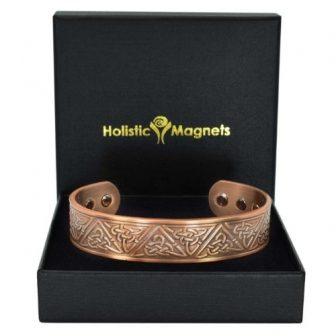 Copper Bracelet Celtic Trinity Knot