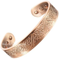 Copper Magnetic Bracelet For Arthritis-Celtic Trinity Knot
