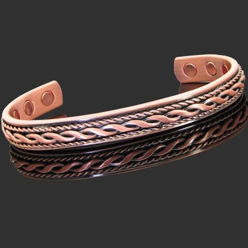 Splendid copper magnetic bracelet for women copper braid for How does magnetic jewelry work
