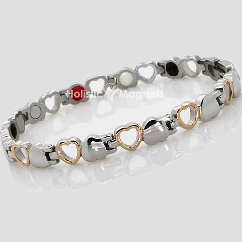 Womens Stainless Steel Magnetic Bracelet-HSS4