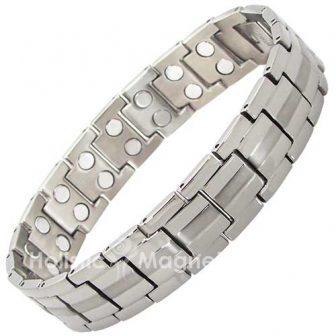 Premium Quality Mens Titanium Magnetic Bracelet - Arthritis Therapy