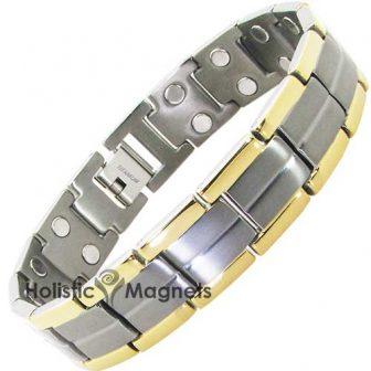 Mens Titanium Magnetic Bracelet