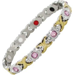 Womens Stainless Steel Magnetic Bracelet-PG4