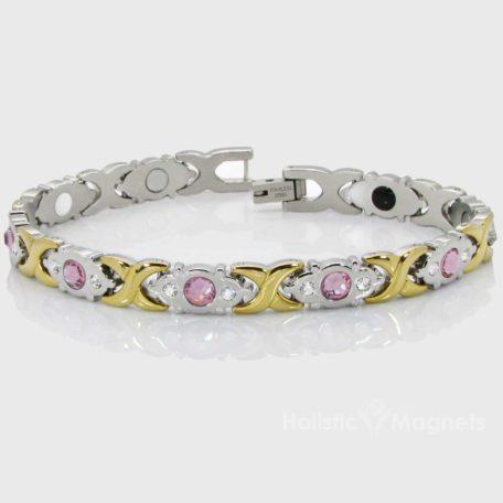 Womens Stainless Steel Magnetic Bracelet-PG4