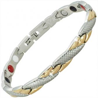 Womens Stainless Steel Magnetic Bracelet-GSS4