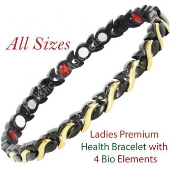 Negative Ions, Infra-Red, Germanium Magnetic Bracelet for Women