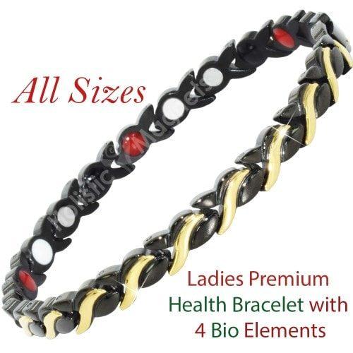 Negative Ions, Infra-Red, Germanium Magnetic Bracelet for Women