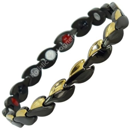 4 in 1 Womens Magnetic Bracelet with Negative Ions, Infra-Red and Germanium Elements – GBL4