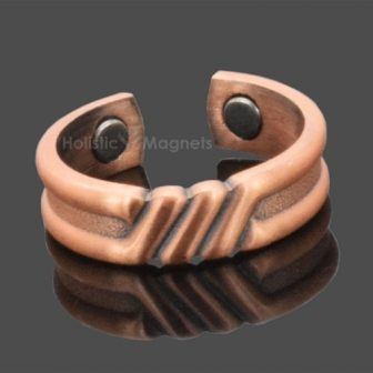 Mens, womens therapeutic COPPER MAGNETIC RING - arthritic fingers, painful finger joints, carpal tunnel syndrome, repetitive strain injuries - IRELAND