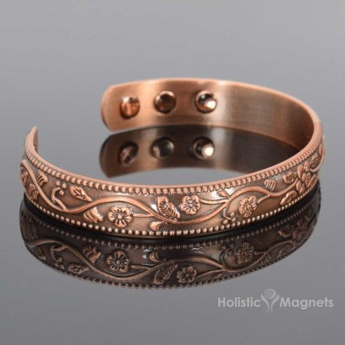 Women's Copper Magnetic Bracelet
