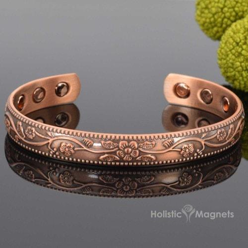 Women S Copper Magnetic Bracelet