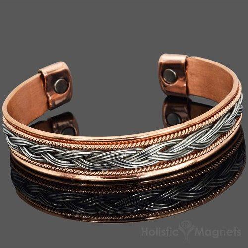 womens copper magnetic bracelet