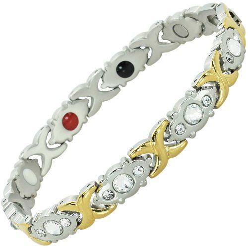 Womens magnetic therapy bracelet arthritis bracelet ladies balance bracelet pain relief cg4