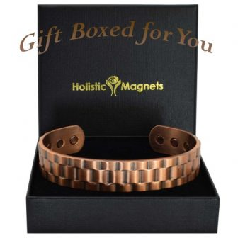 Mens Copper Bracelet Wristband for Arthritis Pain Relief Health Bracelet - Rolex