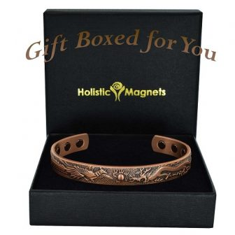 Magnetic copper bracelet for arthritis pain relief magnetic therapy health bracelet