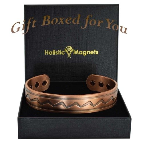 Mens Copper bracelet bio magnetic bracelet for arthritis pain relief
