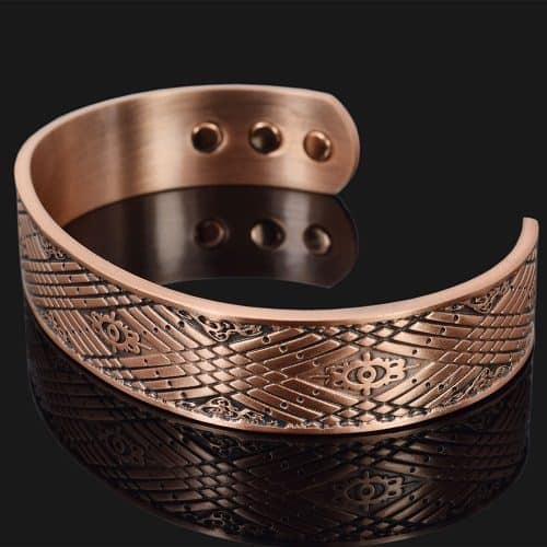 Mens Copper Bracelet for Arthritis Pain Relief Magnetic Therapy Bracelet Bangle – Celtic Mist