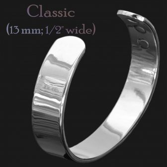 Mens magnetic bracelet magnetic therapy for arthritis copper bangle for pain