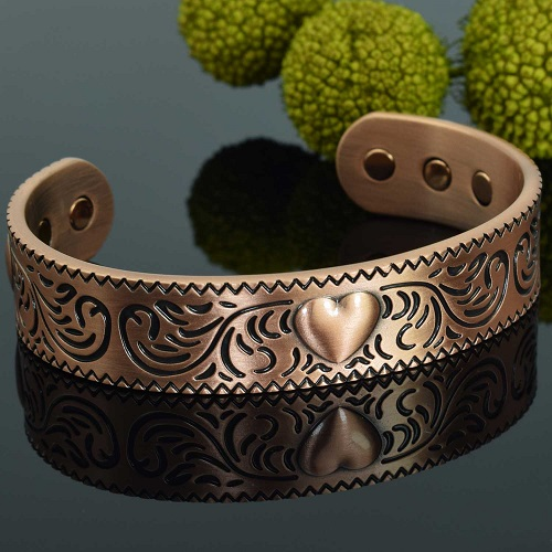Magnetic Therapy Bracelet Copper For Arthritis Pain Relief