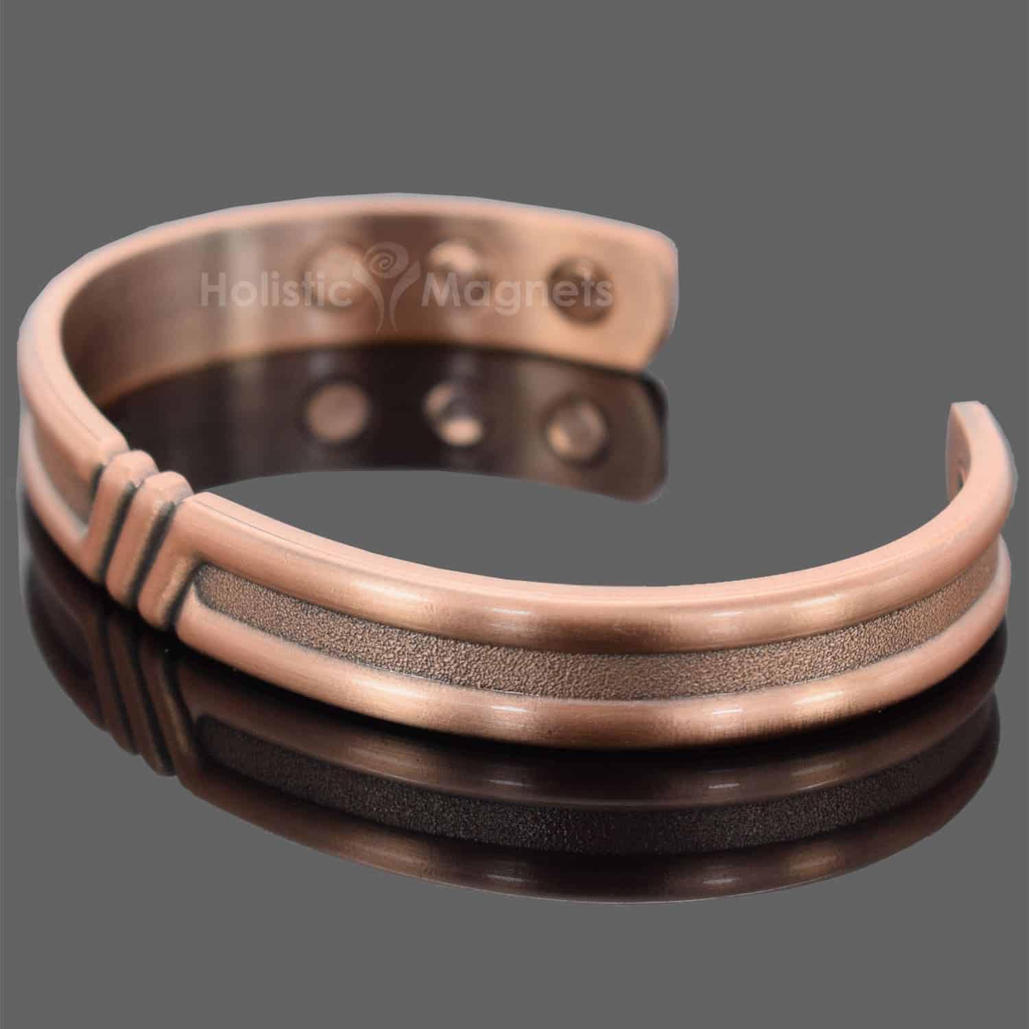 wide bracelet silver health mens toned women arthritis pain sb men healing copper bangle inch product therapy classic for magnetic cardiac