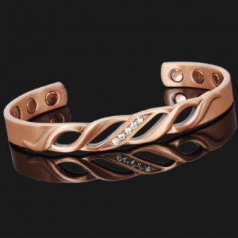 womens magnetic bracelet for arthritis copper magnetic therapy bracelet