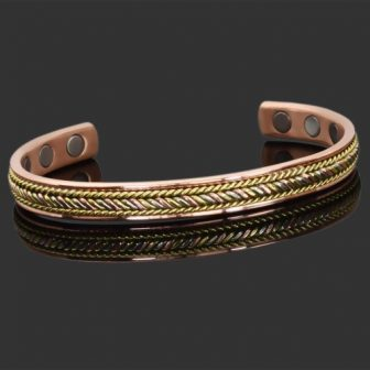ladies magnetic bracelet for health copper magnetic bracelet healing bangle for arhthritis