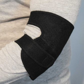 magnetic elbow wrap self-heating tourmaline elbow support arthritis pain relief