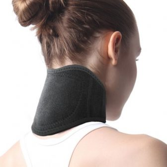 magnetic neck wrap self-heating tormaline neck brace magnetic therapy
