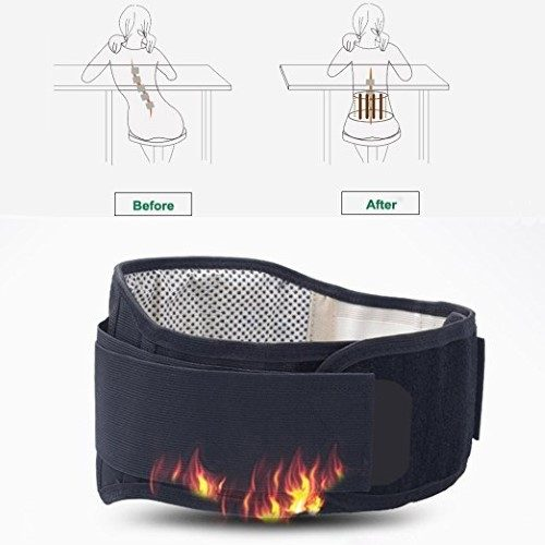 magnetic waist support back support self heating termal tourmaline waist belt pain relief arthritis