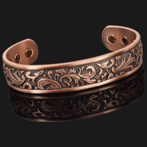 Las Magnetic Bracelet For Health Copper Arthritis Pain Relief Therapy