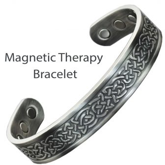 Magnetic Bracelet For Pain Celtic Bracelet Copper Bracelet For Arthritis Magnetic Bangle Men Women Celtic Shield Knot