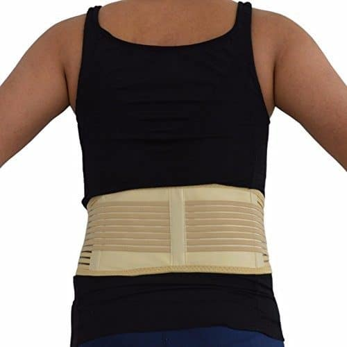 Self-Heating Magnetic Back Support Belt Back Brace for lower Back Pain Tourmaline Back Brace Elastic Corset
