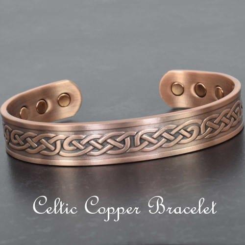 Copper Magnetic Bracelet Celtic Eternity Knot