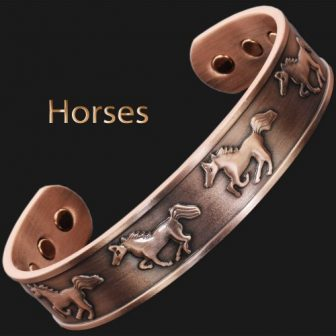 copper magnetic bracelet magnetic therapy arthritis magnetic bracelet for health
