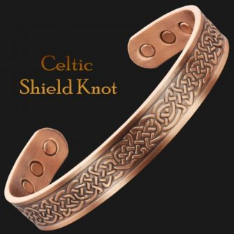 magnetic bracelet arthritis pain relief bracelet bracket celtic shield knot