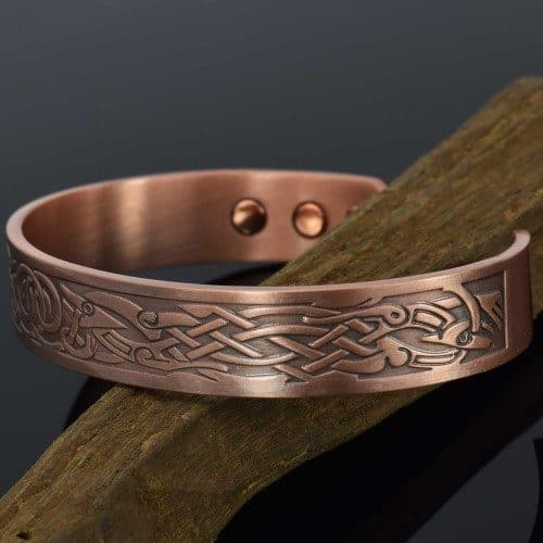 viking-bracelet-mens-copper-bracelet-cuff-magnetic-copper-bracelet-north-celtic-bracelet