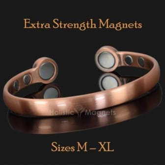 Magnetic bangle pain relief bracelet mens copper bracelet arthritis magnetic therapy health bracelet bracket STRONG MAGNETS hpc