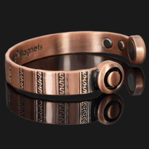 Magnetic Bracelet Copper Bracelet Copper Wristband Magnetic Band Pain Relief Bracelet for Health Healing Therapy Bracelets hsc