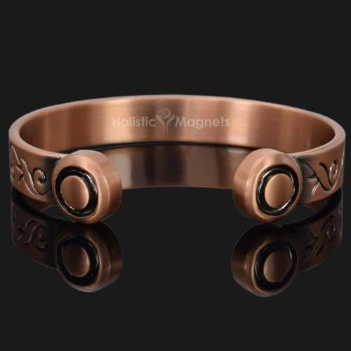 Pure copper magnetic bracelet magnetic therapy pain relief bracelet bracket arthritis bangle healing bracelet wristband hpu