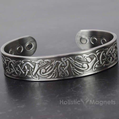 Copper bracelet for men magnetic healing bracelet magnetic therapy health bracelet for pain Viking bracelet EP