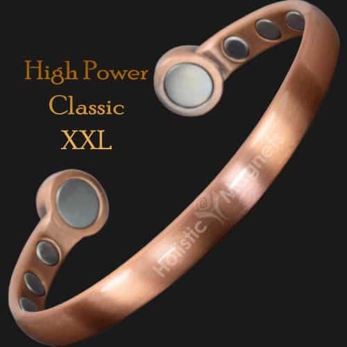 Magnetic bangle pain relief bracelet mens copper bracelet arthritis magnetic therapy health bracelet bracket STRONG magnets hpc XXL