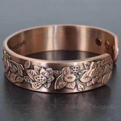 Womens magnetic bracelet for arthritis copper magnetic for How does magnetic jewelry work