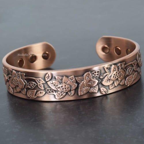 Handcrafted Womens Magnetic Bracelet For Arthritis 100