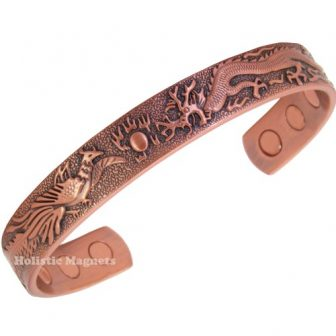 Magnetic copper bracelet for arthritis pain relief magnetic therapy health bracelet pdc (