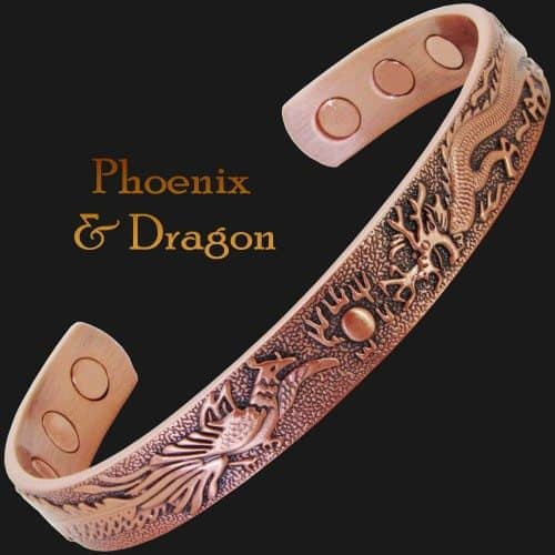 Magnetic copper bracelet for arthritis pain relief magnetic therapy health bracelet pdc