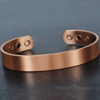 Mens copper bracelet magnetic wristband arthritis pain relief pure copper magnetic bracelet cb