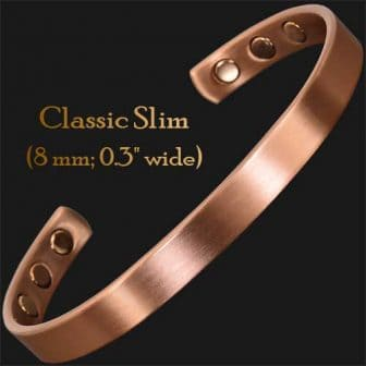 Copper magnetic bracelet bangle health bracelet for arthritis pain magnetic therapy cf