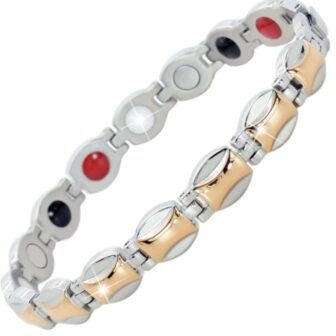 magnetic bracelets for pain relief womens ladies health healing magnetic therapy ion energy wristband sgp
