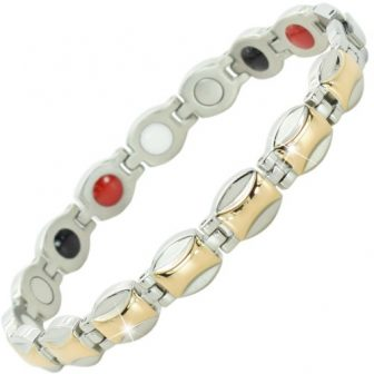 Ladies magnetic bracelet arthritis pain relief magnetic therapy germanium bracelet