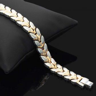 ladies magnetic bracelet energy bracelet arthritis health healing wgs4